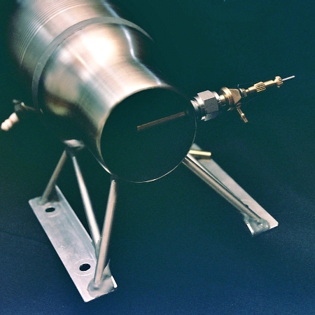 'Maggie Muggs' experimental low-speed ramjet engine (c) 2004 Larry Cottrill